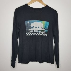"""Vans """"Off The Wall"""" Long Sleeve Graphic Tee"""
